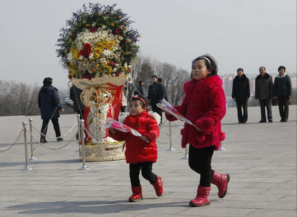 Obchody 76. urodzin Kim Dzong Ila w Północnej Korei