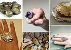 DIY: Pierścionek z dużym kamieniem