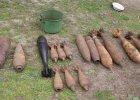27-latek trzymał w domu trotyl, granaty, miny