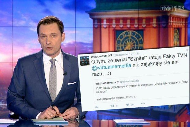 """TVP ratuje ogl�dalno�� """"Wiadomo�ci"""", przesuwaj�c """"Wspania�e Stulecie""""? Na Twitterze ostra reakcja"""
