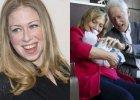 Chelsea Clinton urodzi�a c�rk�. Dumni dziadkowie pokazali pierwsze zdj�cia dziewczynki