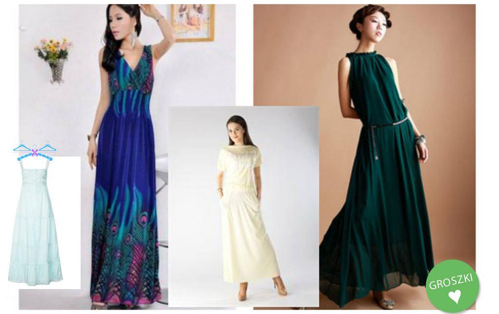4311fdc8cf Długie sukienki w stylu boho