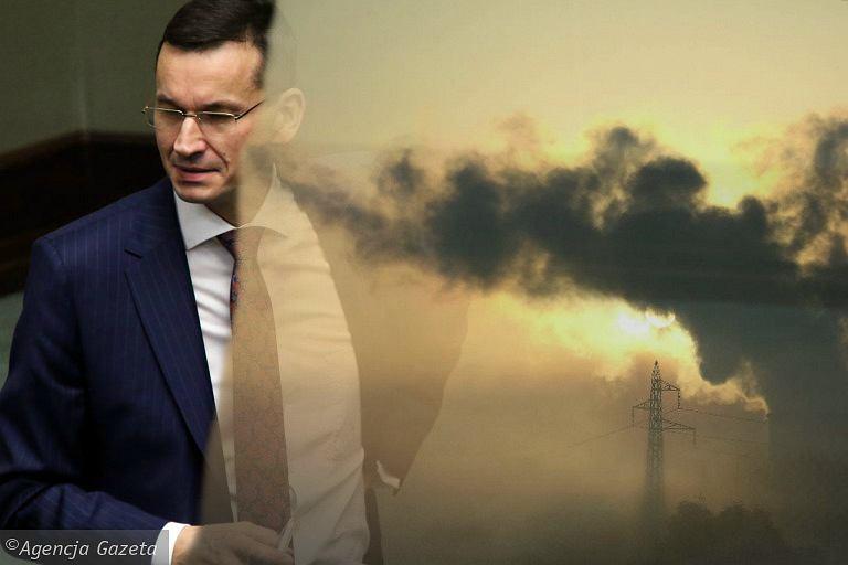 Wicepremier Mateusz Morawiecki zapowiada program 'Czyste Powietrze'
