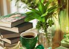 """Książka i kawa. Latte i """"Ogród małych kroków"""""""