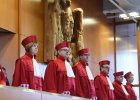 Niemiecki trybunał konstytucyjny pilnuje czerwonej linii