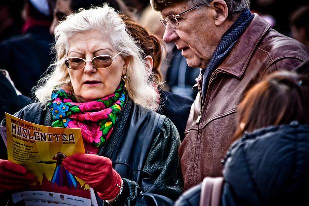 Taken at the Maslenitsa Russian Festival at London's Trafalgar Square, 2011.