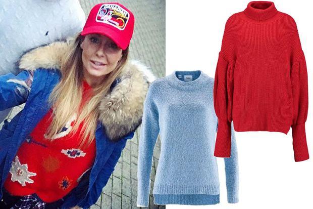 Kolorowe swetry są hitem sezonu, wie już o tym Małgorzata Rozenek-Majdan. Ty również możesz kupić takie w jej stylu już za 40 złotych.