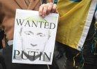 """""""Putin, łapy precz od Ukrainy!"""", """"Stop wojnie"""" - protesty poparcia dla pokoju na Ukrainie"""