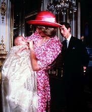 Księżna Diana, książę William, książę Karol