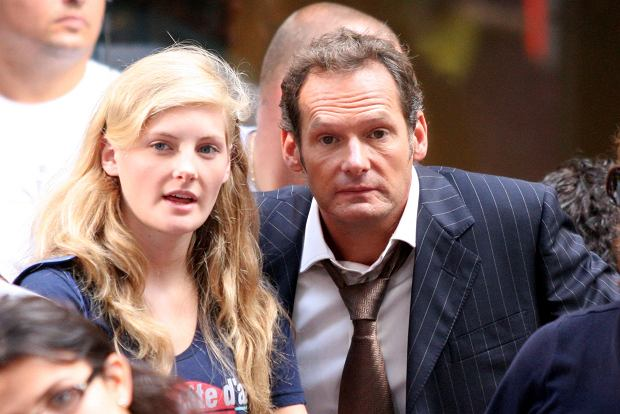 New York, NY 08-21-2009 Former child actor Mark Lester (godfather to Michael Jackson's three children and claims he could be the biological father of Jackson's children) with his 15 year old daughter Harriet watching Natasha Bedingfield performing on NBC's TODAY Show Toyota Concert Series at Rockefeller Plaza. Digital photo by Lane Ericcson-PHOTOlink.net ONE TIME REPRODUCTION RIGHTS ONLY NO WEBSITE USE WITHOUT AGREEMENT