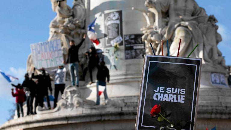 Marsz solidarności po zamachach w Paryżu