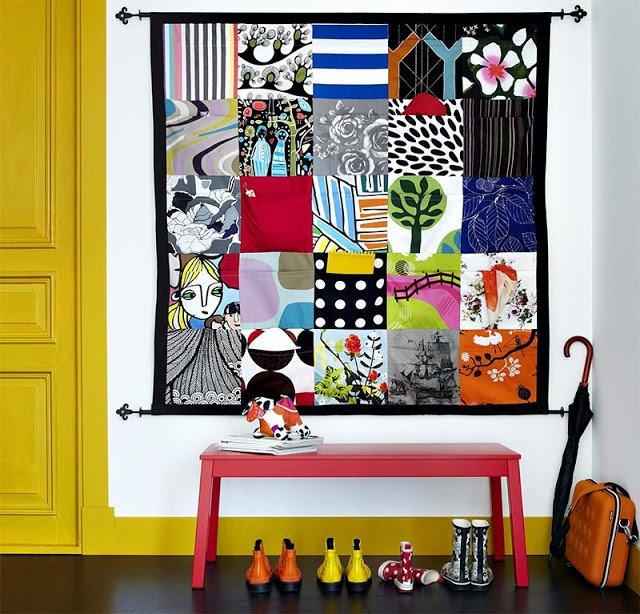 dekoracje cian co zamiast obraz w. Black Bedroom Furniture Sets. Home Design Ideas