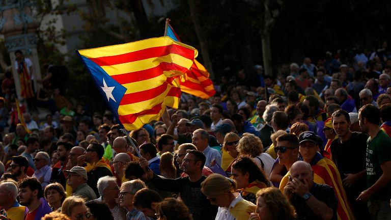 Demonstracja w Katalonii