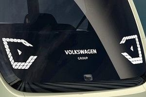Salon Genewa 2017 | Volkswagen Sedric | Bez pedałów, kierownicy i kokpitu