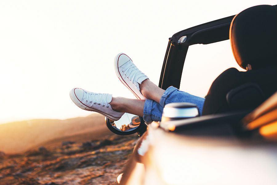 Buty do jazdy samochodem