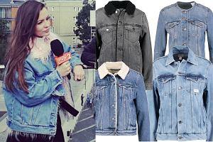 fot. modne kurtki na jesień z jeansu