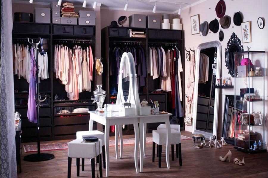 Jak urządzić garderobę na wiosnę?