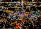 Niesamowite nocne lotnicze zdj�cia Las Vegas. Fotograf: - To by�o jak z 'Blade Runnera'