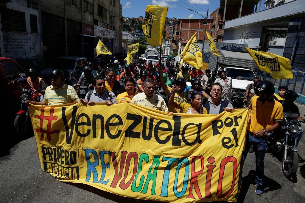 Protest przeciwko prezydentowi Wenezueli, Nicolasowi Maduro