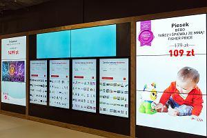 Carrefour otworzył swój najnowocześniejszy market. Zakupy zrobisz przez smartfon i 19 interaktywnych ekranów
