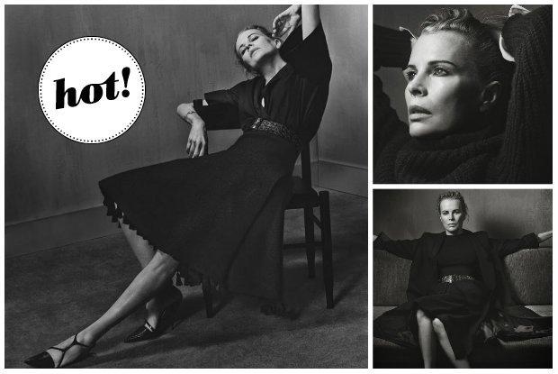 """61-letnia Kim Basinger, symbol seksu lat 80-tych, gwiazd� wyrafinowanej sesji """"Interview Magazine"""". Wci�� ma to co�!"""