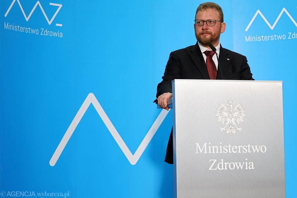 Konferencja Ministra Zdrowia po podpisaniu porozumienia z Pielegniarkami i Poloznymi