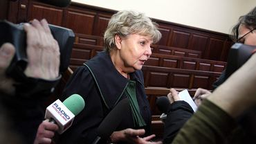Mec. Ewa Szymecka, która reprezentowała rodzinę Małgorzaty Kwiatkowskiej (zdj. z 2009 roku)