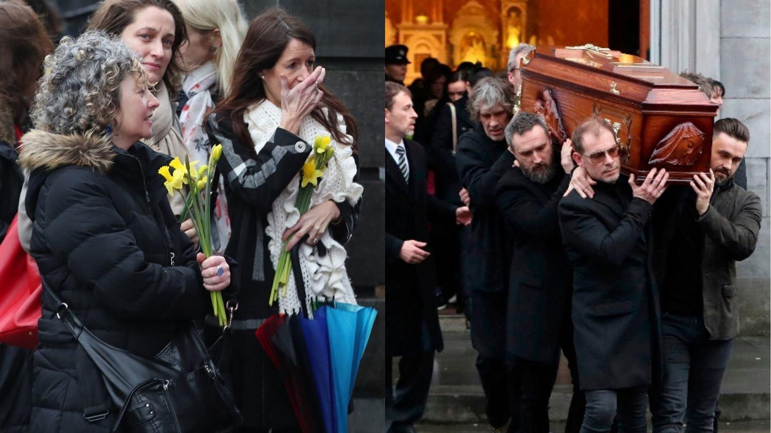 Pogrzeb Dolores O'Riordan. Fani tłumnie przybyli, by pożegnać artystkę