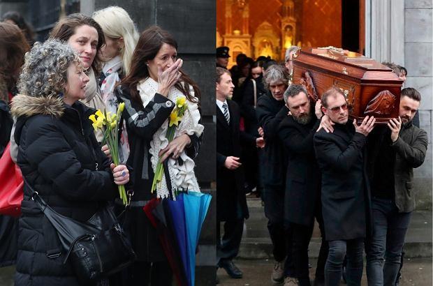Prywatny pogrzeb Dolores O'Riordan odbędzie się dopiero jutro, ale fani już dziś zjawili się w kościele, żeby pożegnać swoją idolkę.