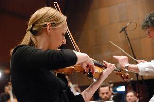 Polska skrzypaczka Agata Szymczewska gra w Carnegie Hall. Z Anne-Sophie Mutter