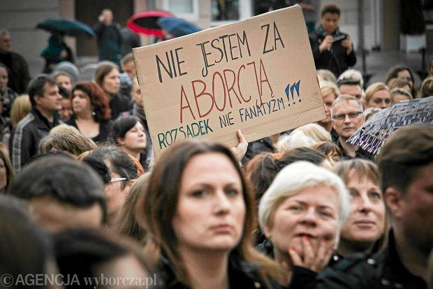 Czarny Protest w Białymstoku.