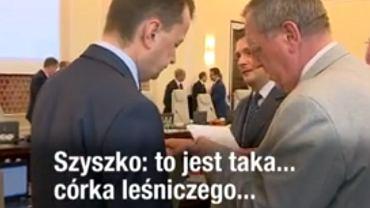 Rozmowa Mariusza Błaszczaka z Janem Szyszką