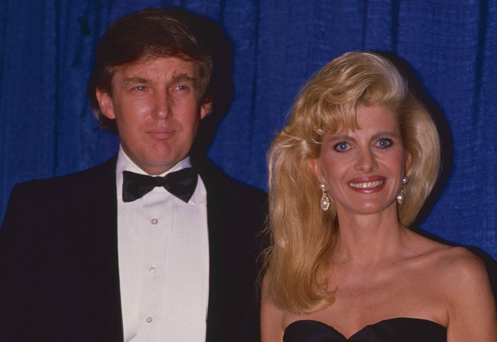 Donald And Ivana Trump Divorce on Merry Christmas Coloring Pages