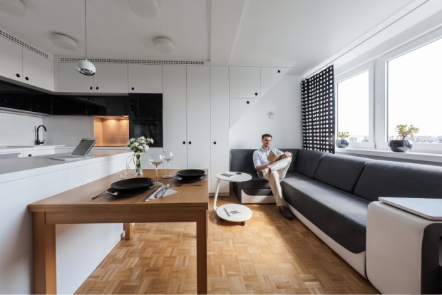 Mieszkanie młodego architekta