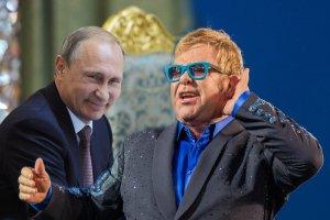 Putin zadzwoni� do Eltona Johna. Rozmawiali o prawach gej�w w Rosji.  Takich s��w si� nie spodziewali�my
