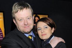 Olaf Lubaszenko i Hanna Wawrowska
