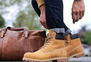Wrangler, Timberland, Levi's. Ubrania, buty i dodatki znanych marek premium, teraz okazyjnych cenach!