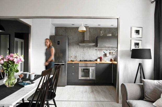 amiast ciasnych, skromnie urządzonych klitek - przestronne i eleganckie wnętrze w iście paryskim stylu.
