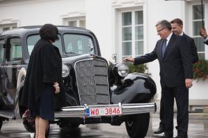 Odrestaurowano Cadillaca Marsza�ka Pi�sudskiego
