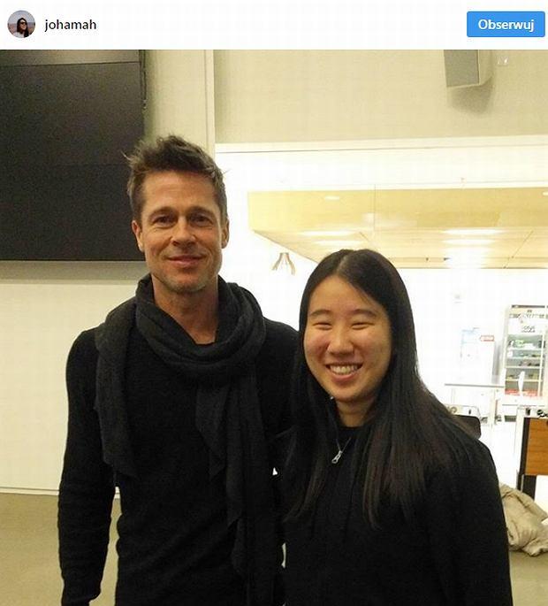 Zdjęcie numer 3 w galerii - Brad Pitt już nie jest sam? Jego wybranka to piękna pani profesor!