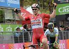 Giro d'Italia. Niemiecki sprinter wygrał na Sardynii i został nowym liderem