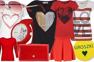 Pomys� na prezent dla niej: walentynkowe ubrania i dodatki
