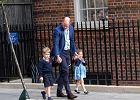 Książę William zabrał dzieci do szpitala. Charlotte i George poznali swojego brata