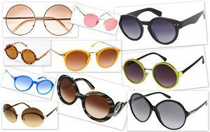 Okr�g�e okulary przeciws�oneczne