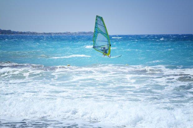 Windsurfing w Grecji