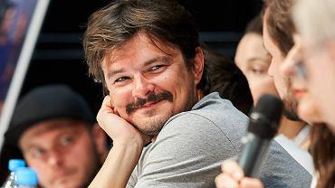 Aktor Dawid Ogrodnik podczas konferencji po pokazie filmu 'Cicha Noc' w Gdyńskim Centrum Filmowym, Gdynia 21.09.2017 r.