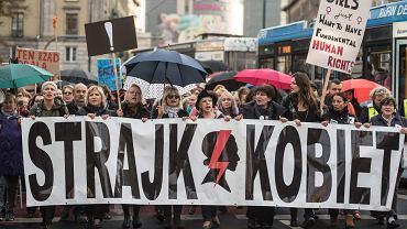 'Czarny Wtorek'. Drugi Ogólnopolski Strajk Kobiet, Wrocław 03.10.2017