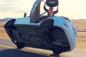 Jak wymieni� ko�o w jad�cym samochodzie | Wideo