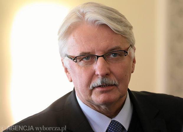 Witold Waszczykowski: Stosunki polsko-amerykańskie nie mogą być intensywniejsze