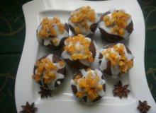 Babeczki czekoladowe ze skórką pomarańczową - ugotuj